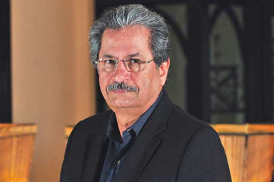 Uniform education system being worked out: Shafqat Mahmood