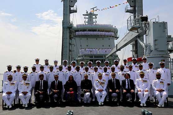 Pakistan Navy inducts indigenous 17,000-tonne fleet tanker
