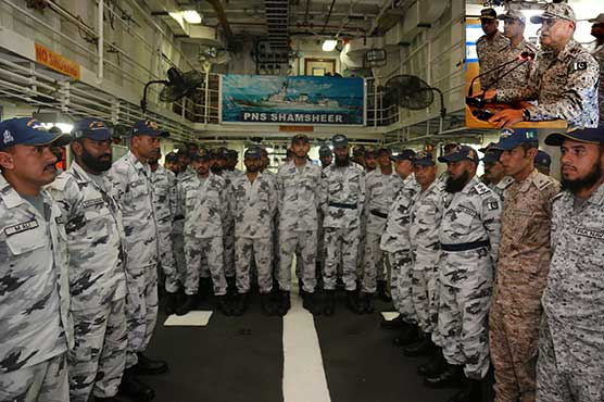 Pakistan Navy ready to safeguard country's territorial waters: Naval Chief