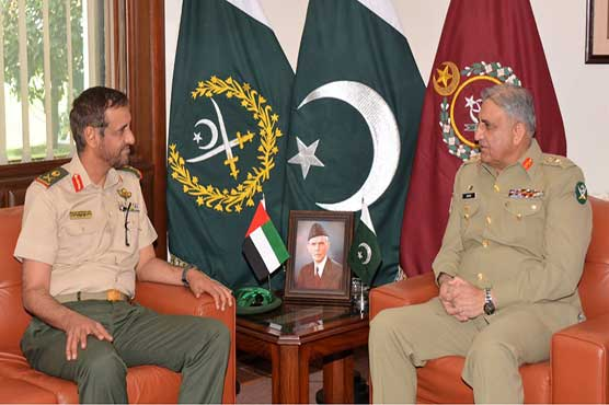 Pakistan, UAE agree to cooperate in fields of defence, military training