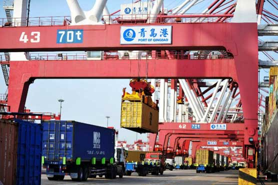 China battles 'unfair' trader image with import expo