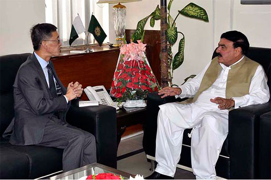 CPEC is backbone of Pak economy: Sheikh Rashid