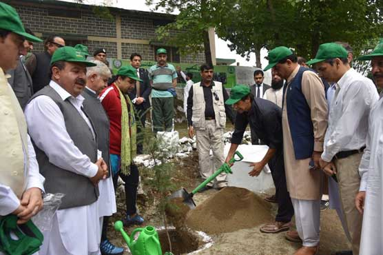 PM urges public to join 'Plant4Pakistan' environment drive