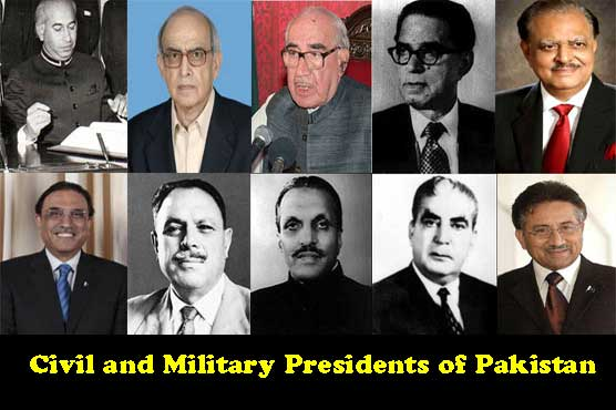 The Democratically Elected and the Military Presidents of Pakistan