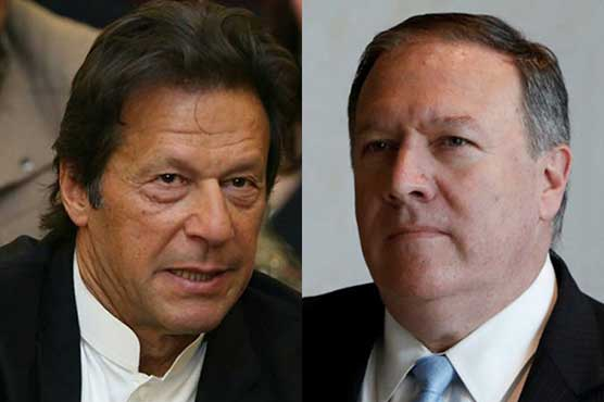 US Secretary of State Mike Pompeo calls on PM Imran Khan