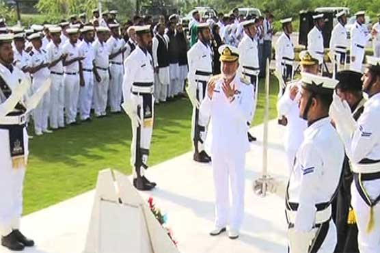 Ceremonies in connection with Defence Day being held across country