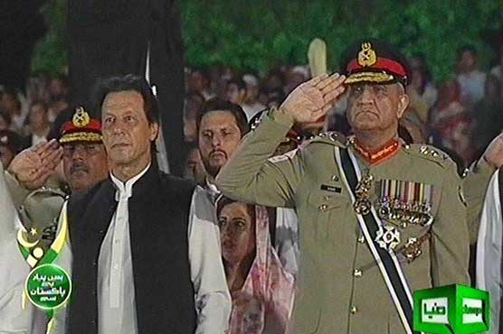 PM Imran attends Defence Day ceremony at GHQ