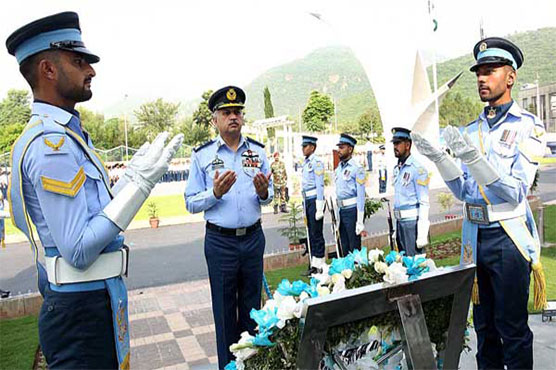 PAF Day observed with traditional fervour, dignity