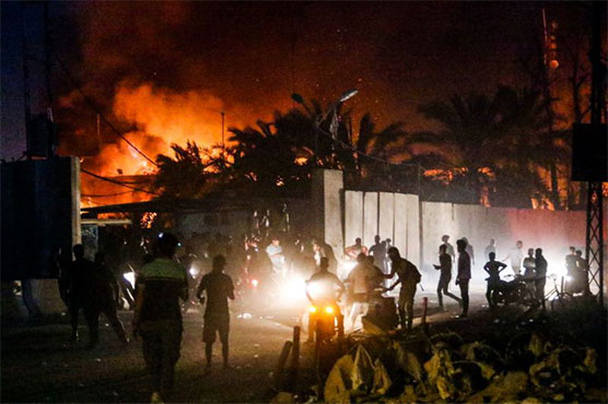 Iraq parliament to hold emergency session after Basra burns