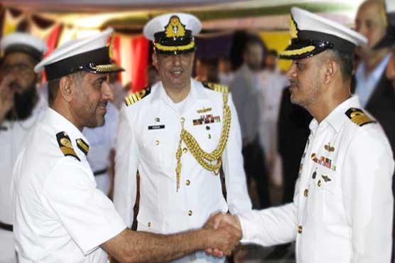 Pak Navy Ship KHAIBAR visits Muscat during RMSP deployment