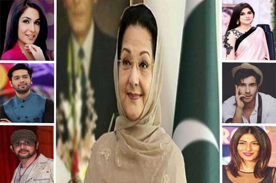 Showbiz Stars extend their condolences to Sharif Family over loss of Kulsoom Nawaz