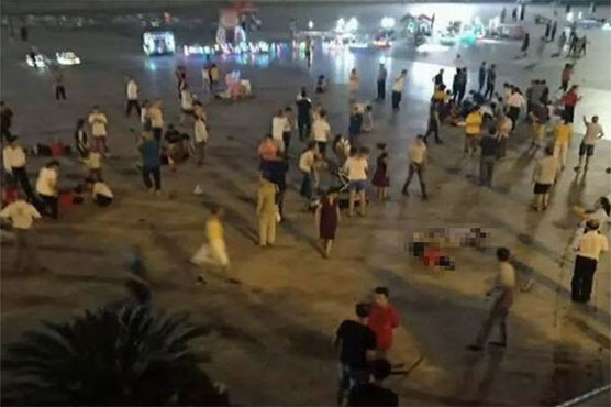 9 dead, dozens hurt as driver rams into crowd in China