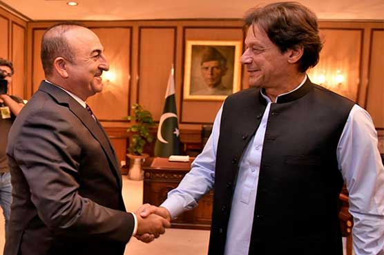 Turkish fm calls on pm imran discusses range of issues pakistan turkish fm calls on pm imran discusses range of issues m4hsunfo