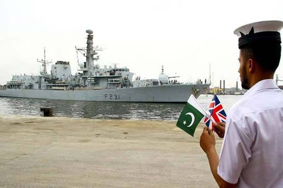 Royal Navy ship arrives in Pakistan on goodwill visit