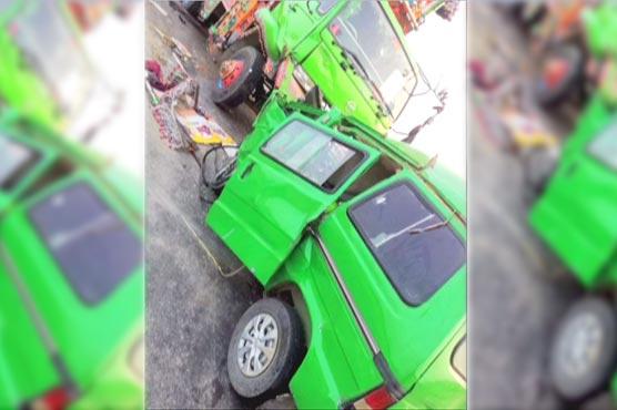 Four killed, one injured in Muzaffargarh road mishap