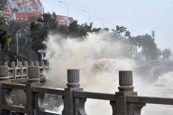 Typhoon makes landfall in China after killing 59 in Philippines