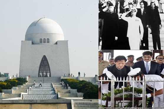 Khan in Karachi: an account of Pakistani rulers' visits to Mazar-e-Quaid