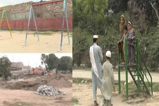Deteriorating situation of parks in Peshawar explore govt negligence