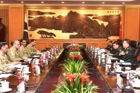 COAS meets PLA chief, discusses CPEC, regional security