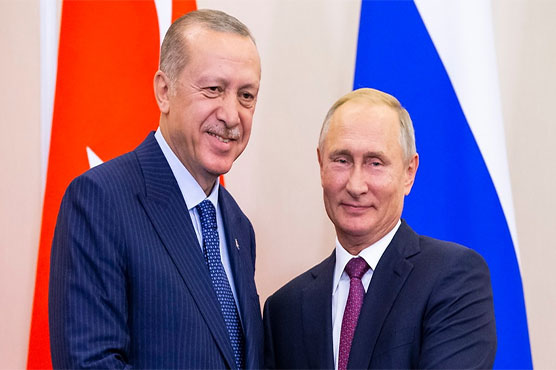 Leaders of Russia, Turkey meet to discuss Syria's Idlib