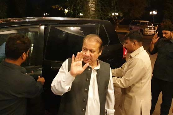 Nawaz Sharif, Maryam, Safdar reach Jati Umra