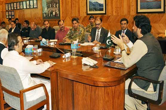 Afridi inspects security arrangements on Ashura