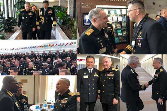 CNS Admiral Abbasi attends 23rd ISS-2018 at USA