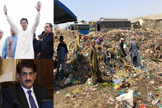 "Karachi a hub of trash: ""Change"" is far away from metropolitan city"