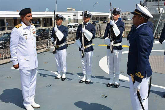 Pakistan Navy ship Saif visits Casablanca