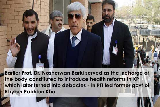 Another Health Task Force, Nepotism Outcry and PM Imran Khan's Cousin Nosherwan Barki