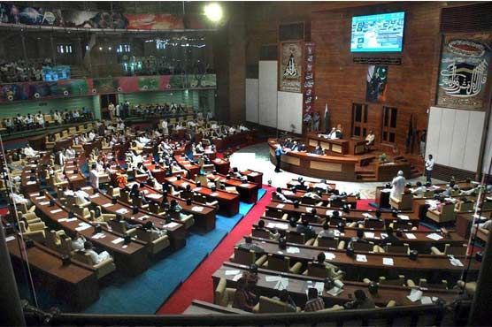 Opp lawmakers in Sindh stage symbolic walkout to protest child kidnappings