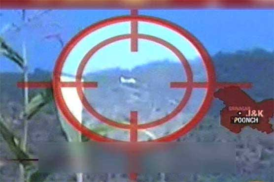 AJK PM's chopper comes under Indian fire