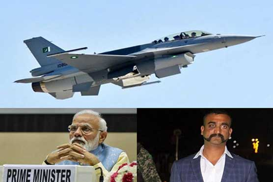 Indian claims of downing Pakistan's F-16 fall flat on its face