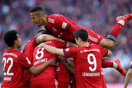 485897 99456129 - جرمن فٹبال لیگ: بورشیا ڈورٹمنڈ کو شکست، بائرن میونخ کا پہلی پوزیش