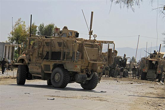 Convoy targeted at US base in Afghanistan: Afghan officials