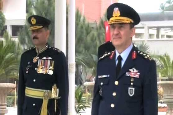Turkish air commander attends 141st passing out parade of PAF cadets