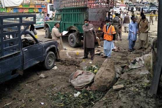 486656 74798961 - کوئٹہ پھر لہو لہو، ہزار گنجی دھماکے میں 20 افراد شہید، 48 زخمی