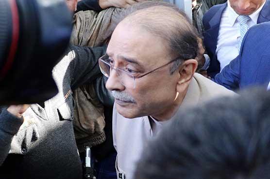 Zardari submits written response to NAB's questionnaire