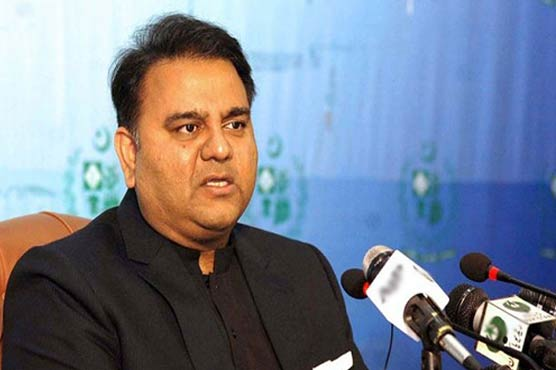 Changing ministers comes under PM's discretionary power: Fawad Chaudhry
