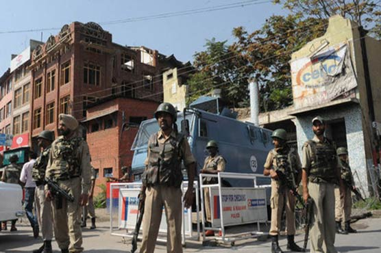 Shutdown against Indian elections being observed in occupied Kashmir