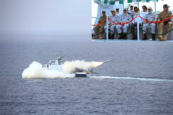Pak Navy successfully test fires cruise missile with anti-ship, land attack capability