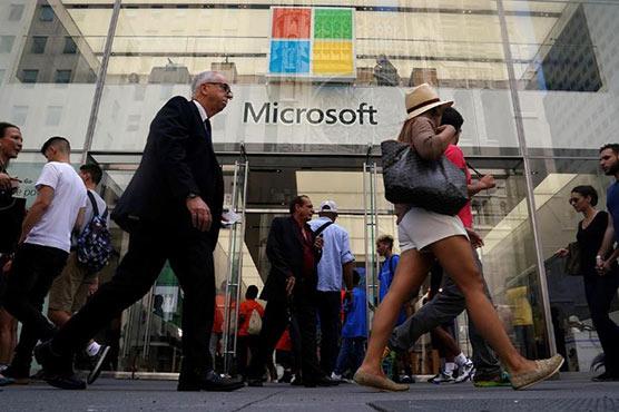 Microsoft Again Beats Street On Cloud Computing Strength (NASDAQ:MSFT)