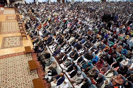 Afghan president opens grand assembly in bid to gain initiative in Taliban talks