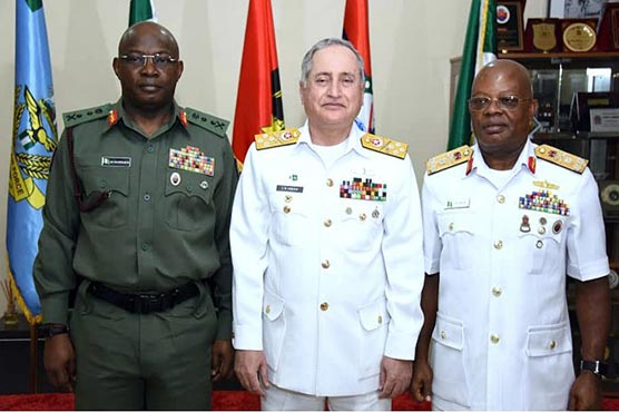 CNS discuss bilateral ties with Nigerian Naval Chief