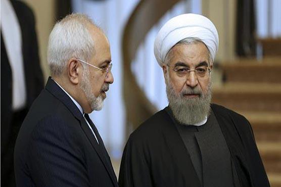 Iran president says Zarif sanctions show US 'afraid' of top diplomat