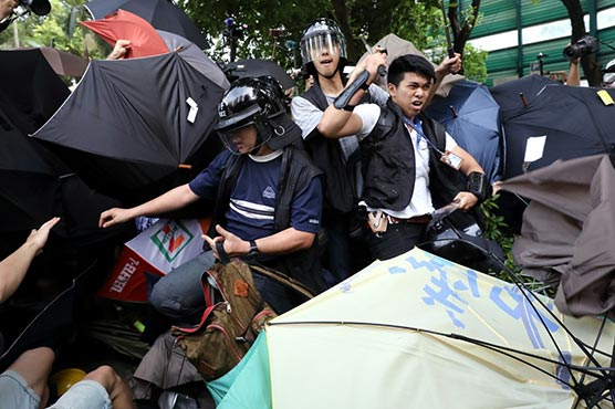 Image result for Hong Kong On Brink, Protesters Unleash Travel Chaos: Chief Executive Lam