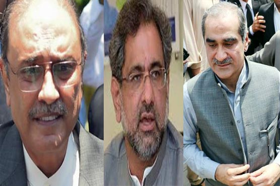 NA session: Zardari, Shahid Khaqan, Saad Rafique's production orders issued