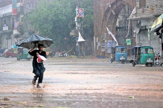 PMD predicts new spell of monsoon rain to lash parts of country till Eid-ul-Azha