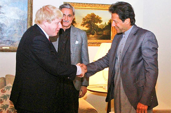 PM Imran calls British counterpart to discuss occupied Kashmir situation