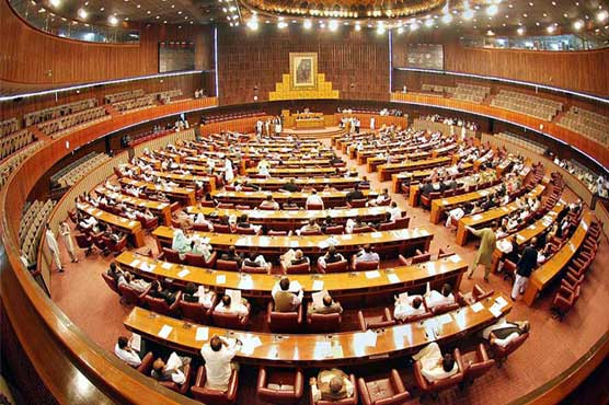 NA passes resolution condemning Indian move to alter disputed status of IoK